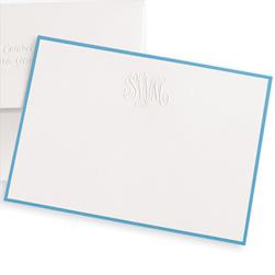 Classic Monogram Notecards