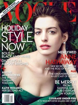 December Vogue Cover