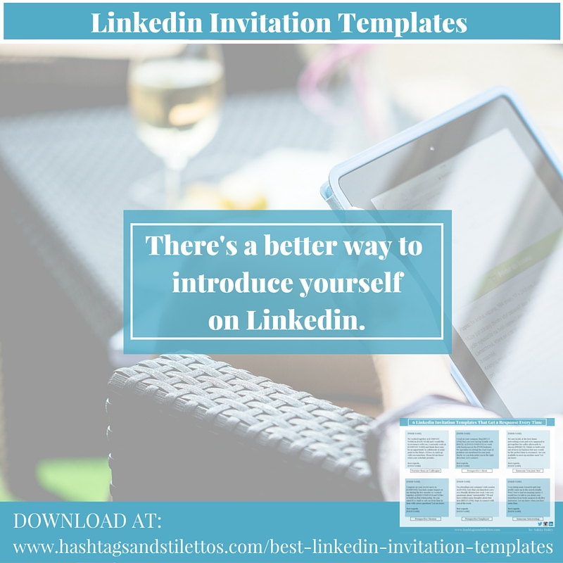 6 Linkedin Invitation Templates that Get a Response Every Time FREE