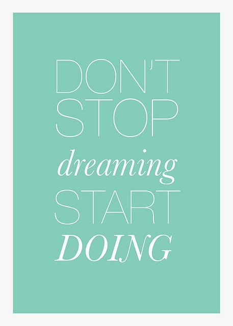 action creates inspiration