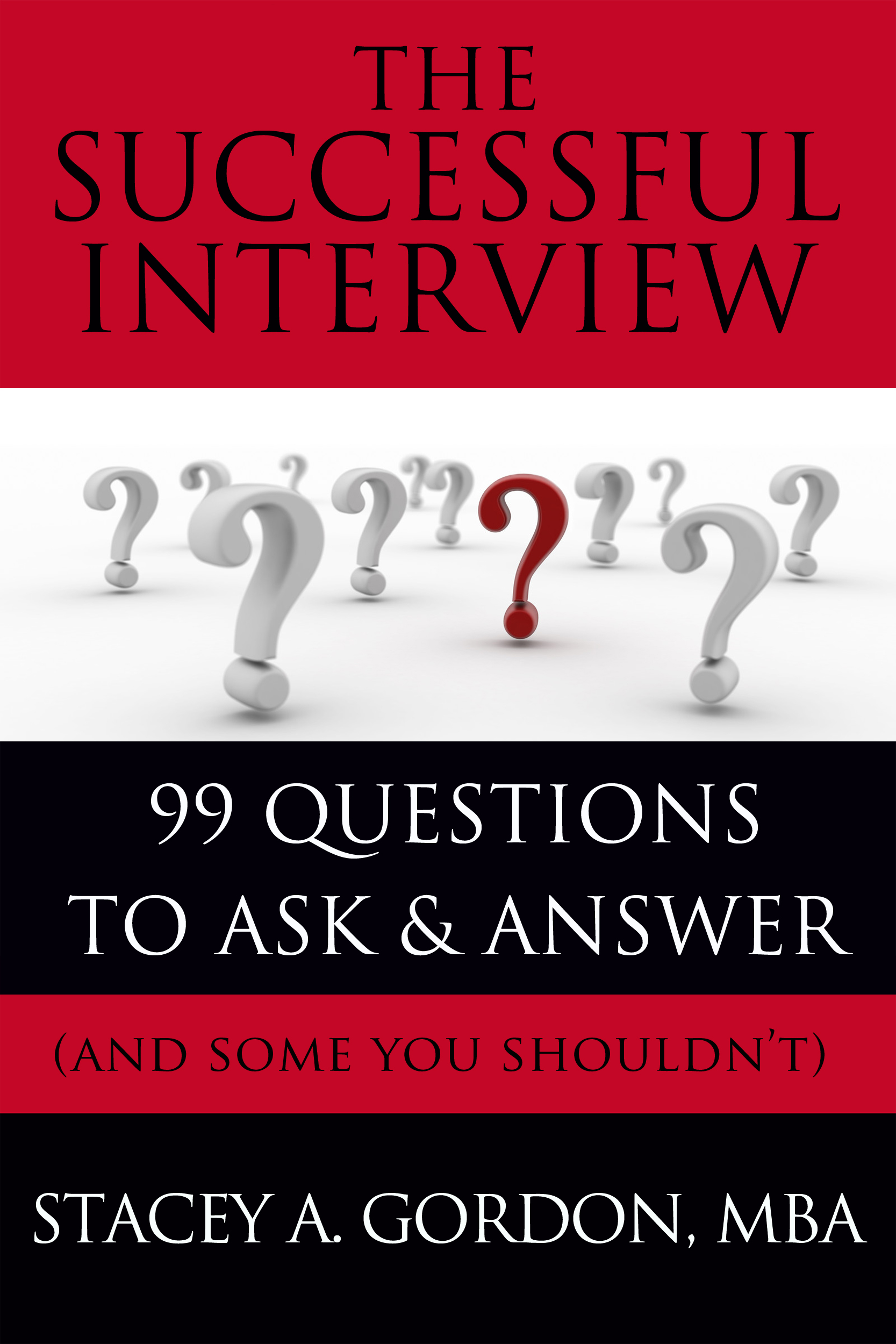 The Successful Interview by Stacey Gordon