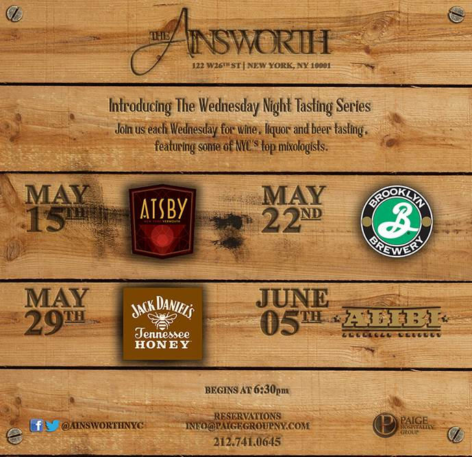 ainsworth tasting series