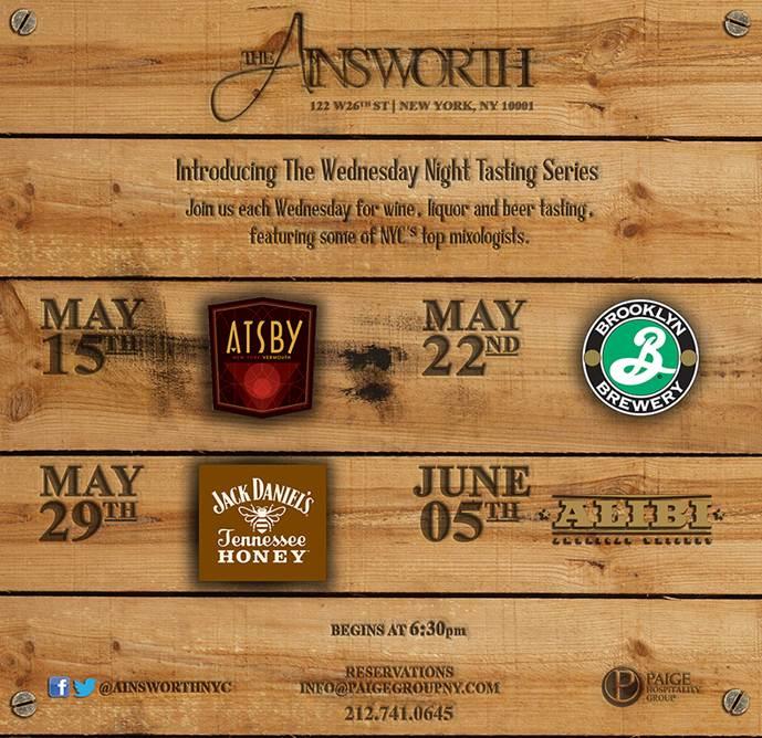 ainsworth tasting series