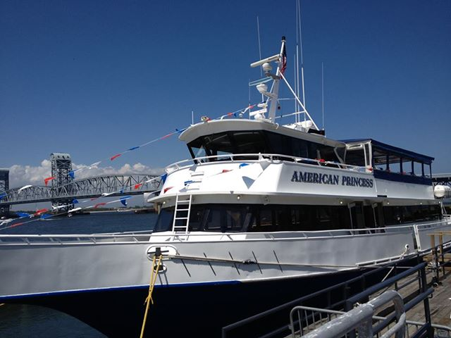 american princess cruising vessel