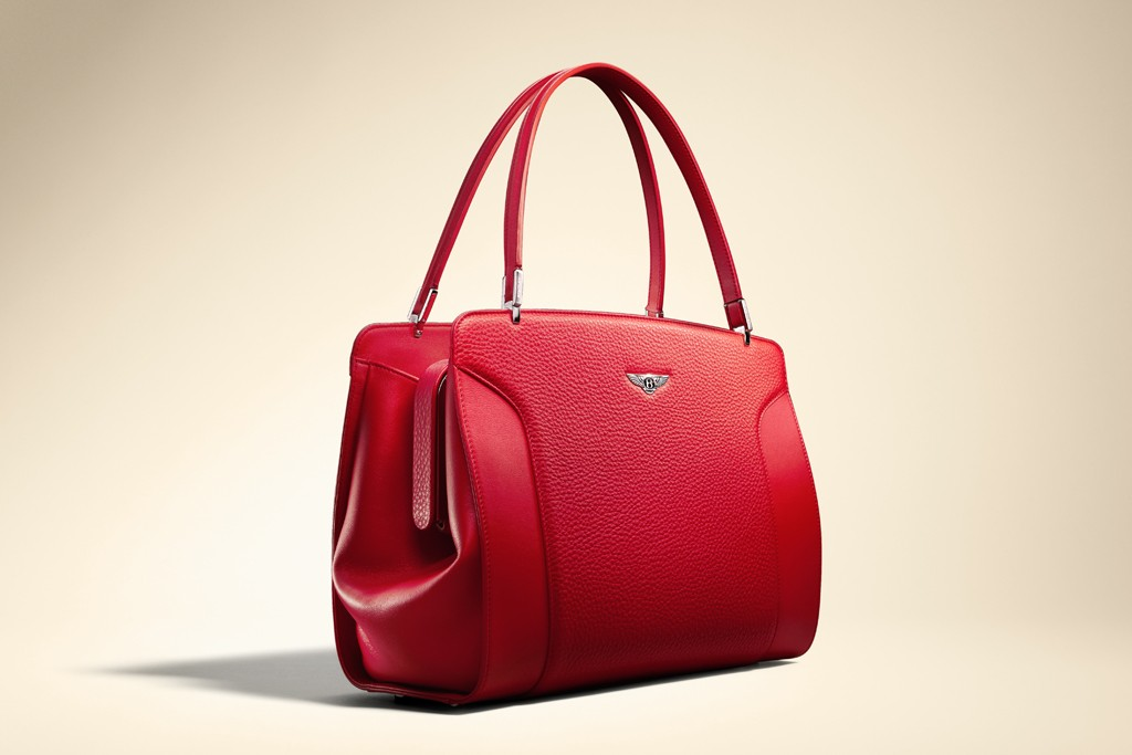 bentley launches handbag line