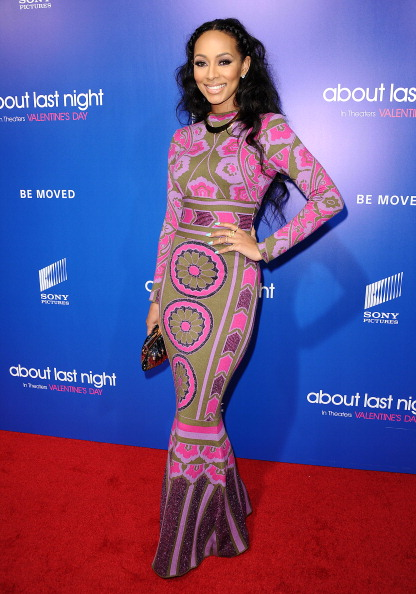 Keri Hilson attends the screening of 'About Last Night' (Jason LaVeris/FilmMagic)