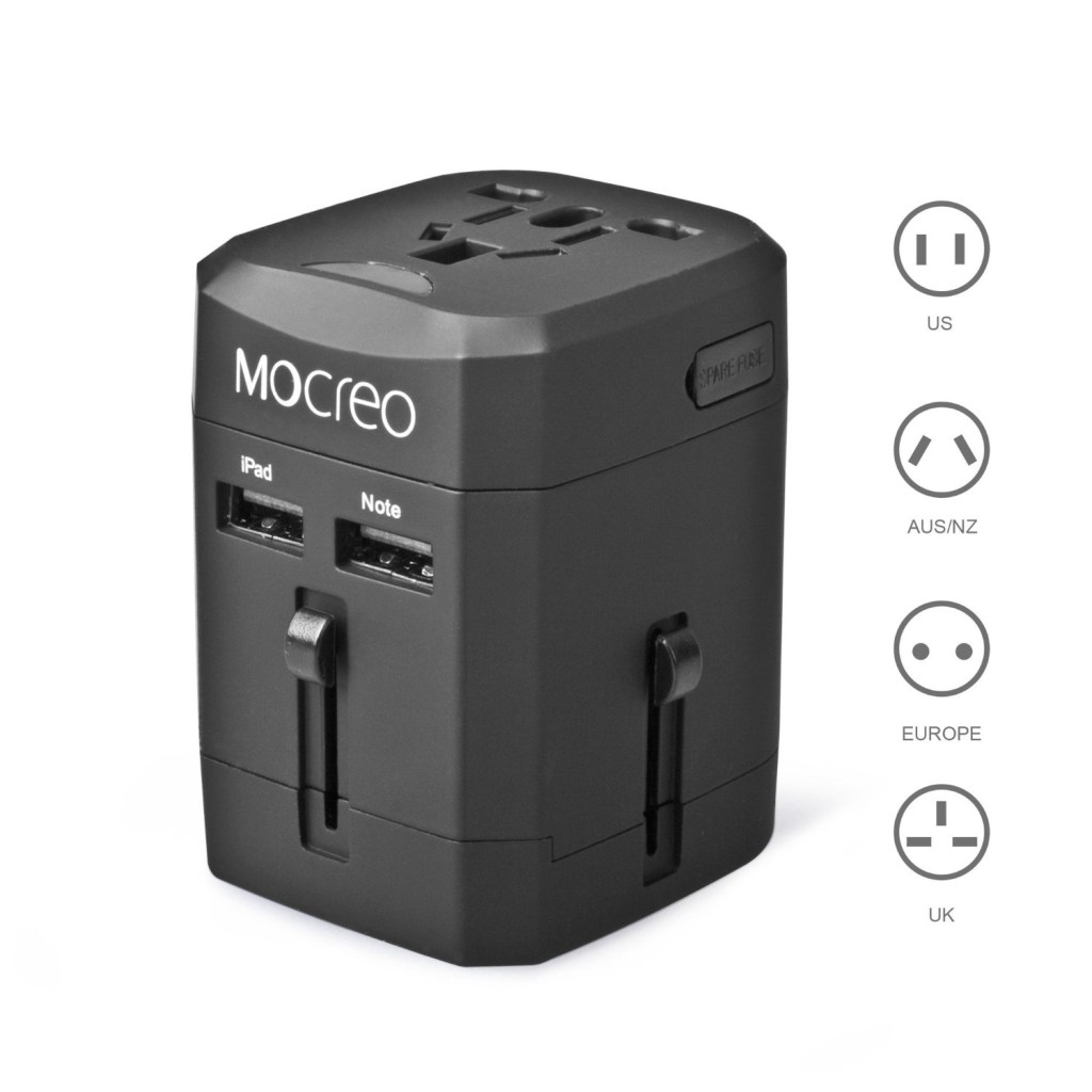 mocreo travel adapter