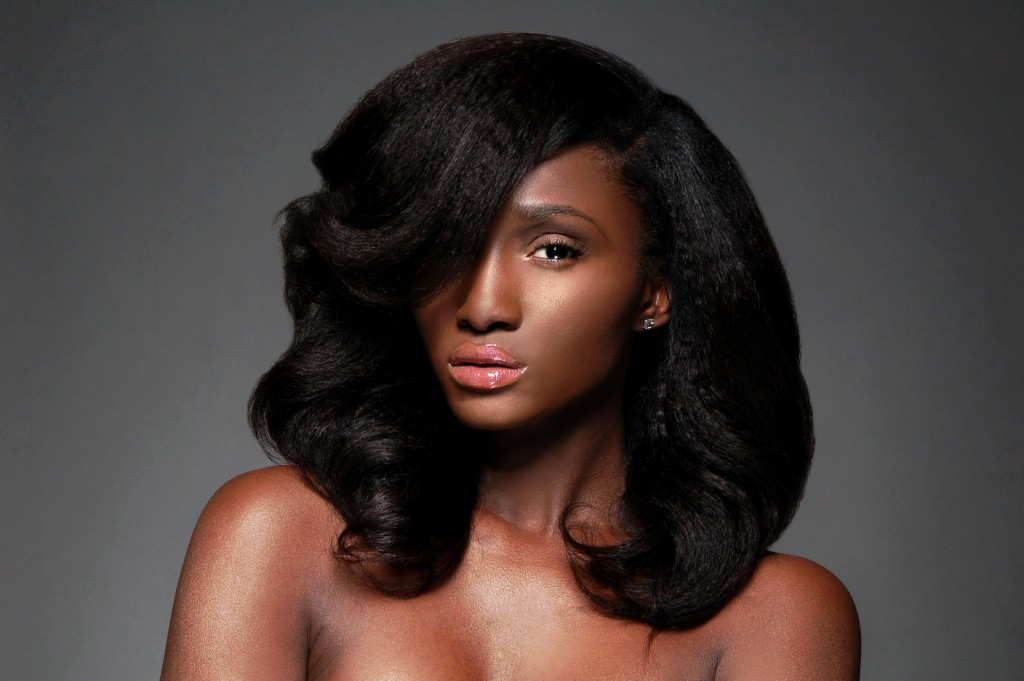 The 'Queen' Wig from Heat Free Hair's Blow Out Collection.