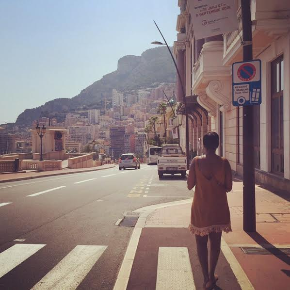 The author walking on the pathway of more success in Monte Carlo.